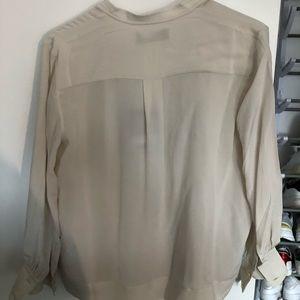 The Clean Silk Blouson Shirt